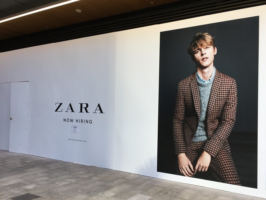 A Zara poster